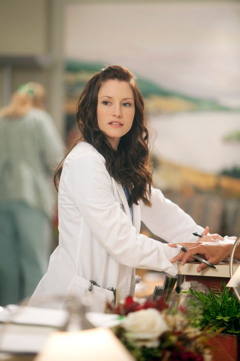 Während Cristina feststellt, dass sie in der sechsten Woche schwanger ist, bittet Lexie (Chyler Leigh) Mark, sie ihn Ruhe zu lassen ... - Bildquelle: ABC Studios
