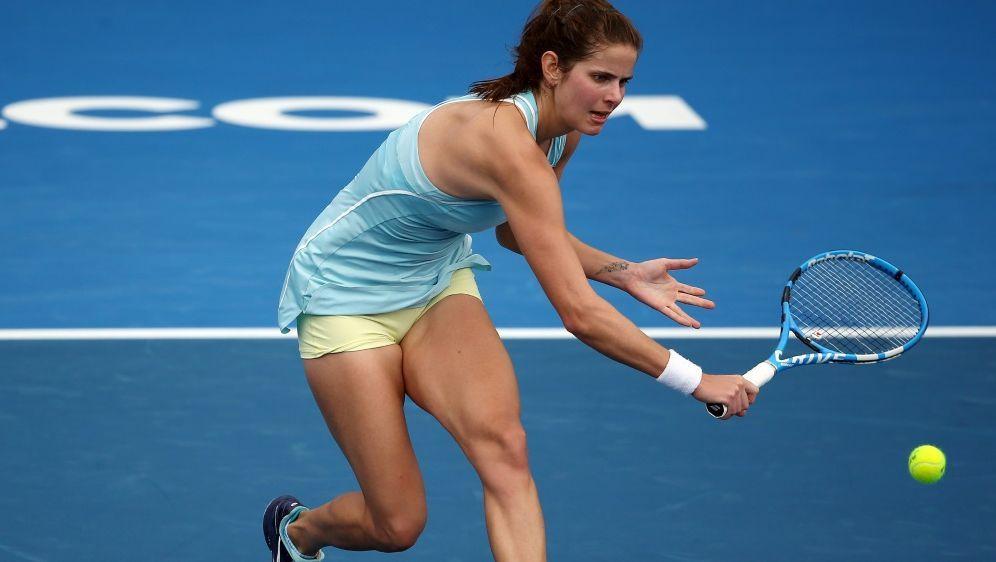 Julia Görges verspricht ihre Teilnahme im Fed-Cup-Team - Bildquelle: AFPSIDMICHAEL BRADLEY