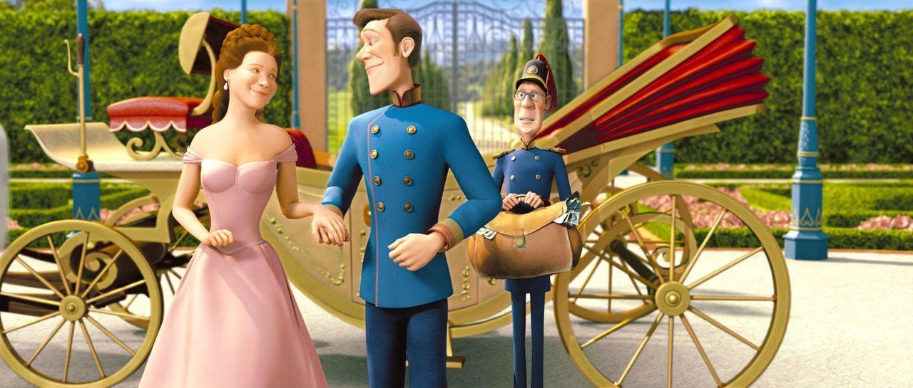 """Lissi und Kaiser Franz: """"Komm, lass uns ein wenig im Park herumpanieren!"""" - Bildquelle: 2007 herbX film gmbh (Alle Rechte vorbehalten)"""