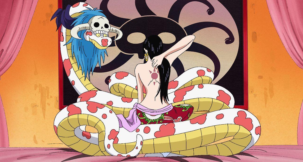 Hancocks Geständnis. Der Fluch der Vergangenheit - Bildquelle: Eiichiro Oda/Shueisha, Toei Animation