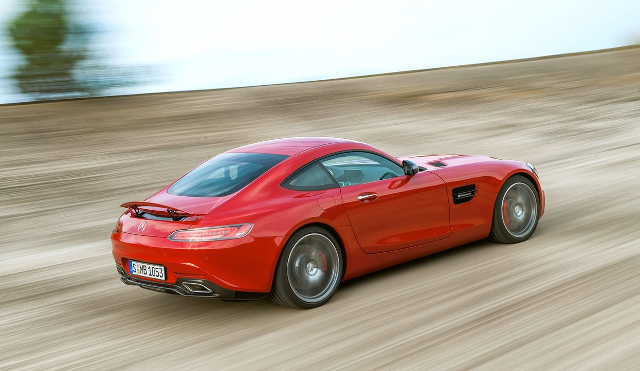 Mercedes AMG GT (3) - Bildquelle: press photo, do not use for advertising purposes