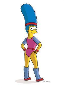 Die Simpsons - Marge hat etwas zugenommen und will deshalb in ein Fitness-Stu...