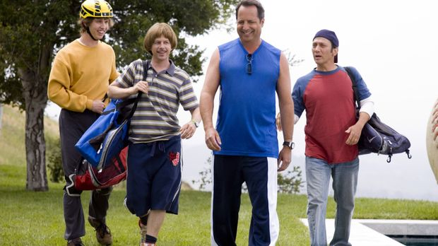Die Freunde Clark (Jon Heder, l.), Richie (David Spade, 2.v.l.), Gus (Rob Sch...
