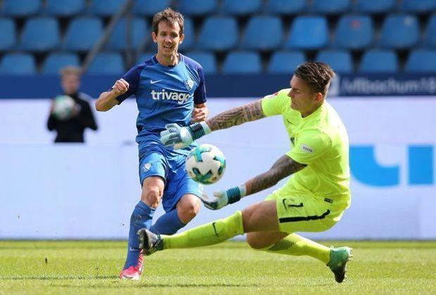 Bochums Robbie Kruse scheitert an Kevin Müller