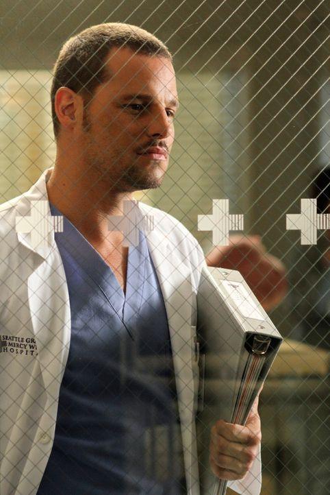 Steht völlig unter Druck: Alex (Justin Chambers) ... - Bildquelle: ABC Studios