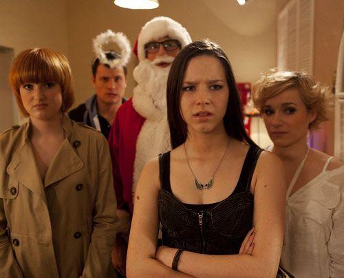 Sophie, Luzi, Hotte, Emma und Timo stürmen die Weihnachtsfeier der Beschenkos ...  - Bildquelle: David Saretzki - Sat1