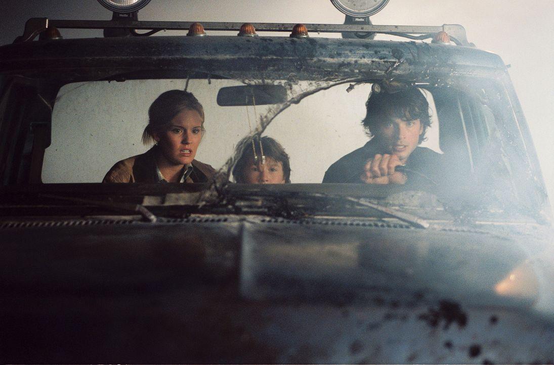 Auf der verzweifelten Flucht vor rachsüchtigen Untoten, die ihnen nach dem Leben trachten: (v.l.n.r.) Maggie Grace, Cole Heppell und Tom Welling ... - Bildquelle: Sony Pictures Television International. All Rights Reserved.