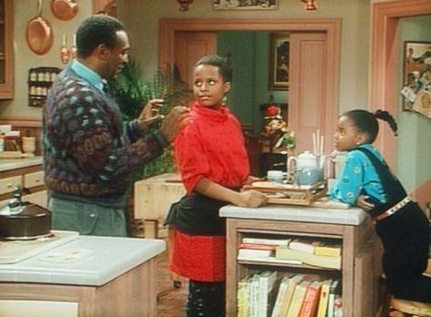 Bill Cosby Show - Cliff (Bill Cosby, l.) hat Frühstück für Clair gemacht, und...