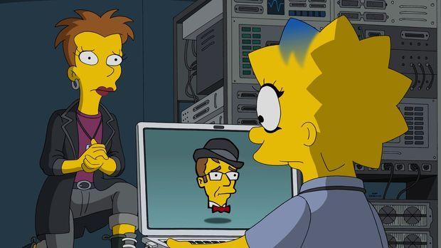 Lisa (r.) besucht bei Quinn (l.) einen Computerkurs. Ihre Hausaufgabe ist es,...