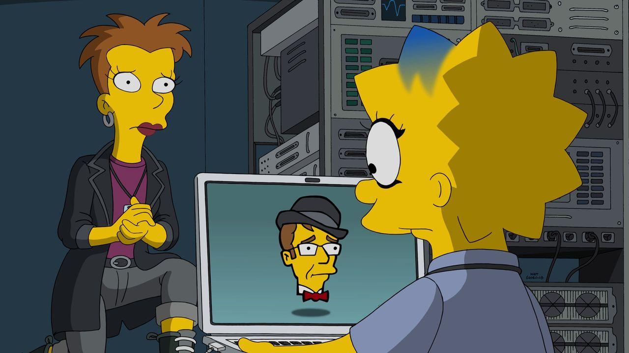 Lisa (r.) besucht bei Quinn (l.) einen Computerkurs. Ihre Hausaufgabe ist es, eine App zu entwickeln, die sich später vielleicht verkaufen lässt. Da... - Bildquelle: 2015 Fox and its related entities.  All rights reserved.