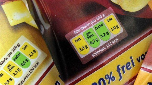 Ampel-Kennzeichnung für Nahrungsmittel