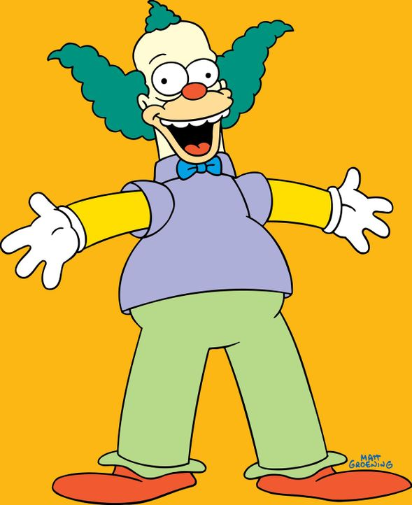 (19. Staffel) - Krusty der Clown hat eine eigene Fernsehshow und stellt eine übertriebene Albernheit zur Schau ... - Bildquelle: und TM Twentieth Century Fox Film Corporation - Alle Rechte vorbehalten