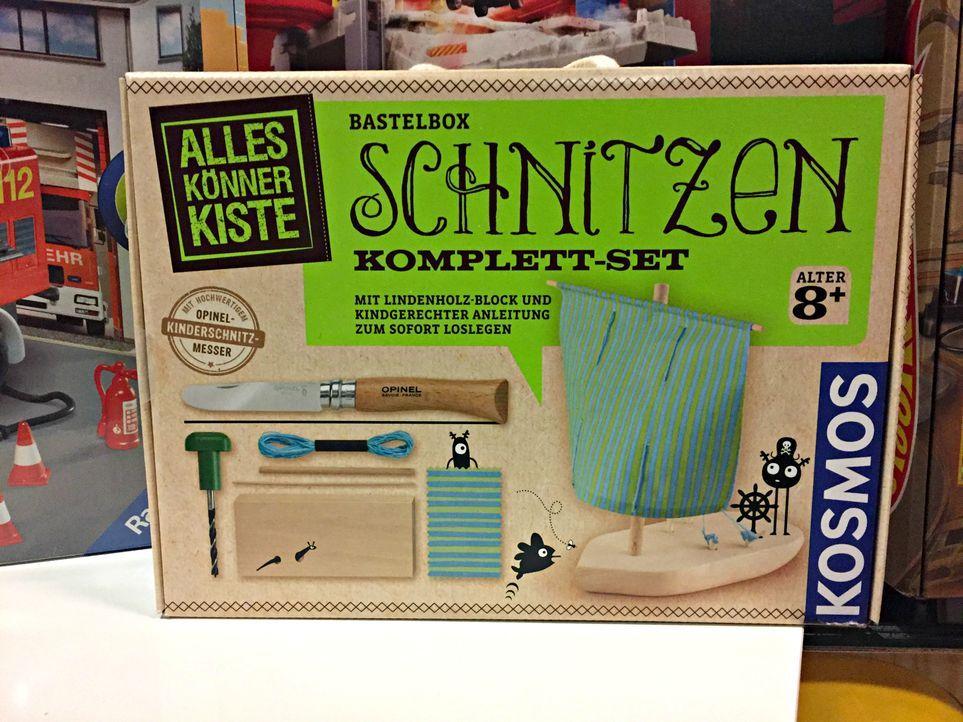 """Top 3 für Jungs:1. """"AllesKönnerKiste Schnitzen"""" von KOSMOSca. 29,9..."""