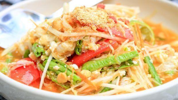 Papaya Salat-Rezept