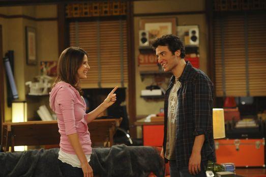 How I Met Your Mother - Seit Robin (Cobie Smulders, l.) und Ted (Josh Radnor,...