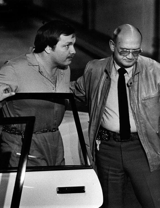 Der US-amerikanische Serienmörder Arthur Gary Bishop (l.) wurde wegen Entführung und Ermordung von fünf Kindern aus Salt Lake City zum Tode verurtei...