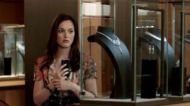 Kann es nicht ertragen, Chuck glücklich zu sehen: Blair (Leighton Meester) .....