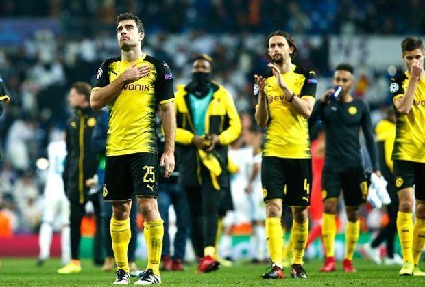 Der BVB ist aus der Champions League ausgeschieden