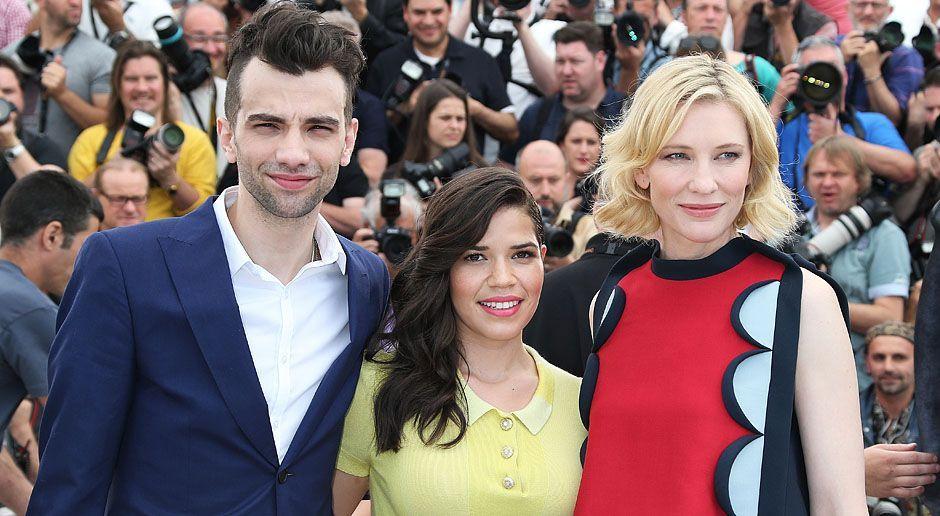 Cannes-Filmfestival-Jay-Baruchel-America-Ferrera-Cate-Blanchett-14-05-16-AFP - Bildquelle: AFP