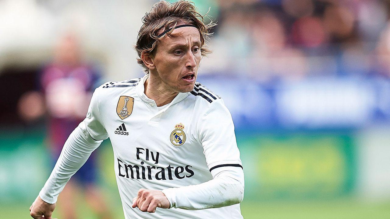 Rechter Mittelfeldspieler: Luka Modric - Bildquelle: 2018 Getty Images