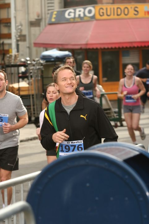 Nimmt am New York City Marathon teil: Barney (Neil Patrick Harris) ... - Bildquelle: 20th Century Fox International Television