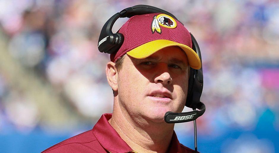 Platz 10: Jay Gruden (Washington Redskins) - Bildquelle: 2016 Getty Images