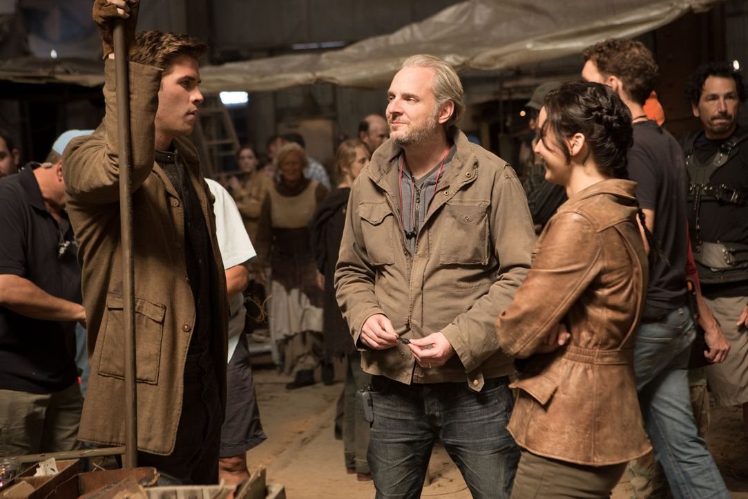 Behind the Scence bei Catching Fire - Bildquelle: Studiocanal