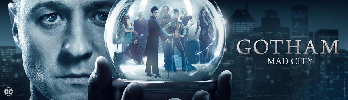 Gotham - (3. Staffel) - Gotham - Artwork - Bildquelle: 2016 Warner Brothers