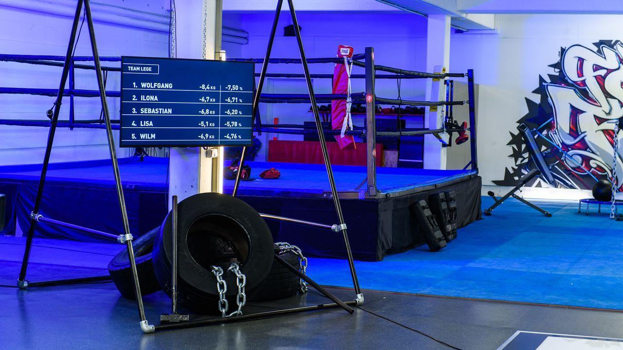 17-Team Lege Abnehm-Tabelle - Bildquelle: Willi Weber, kabel eins