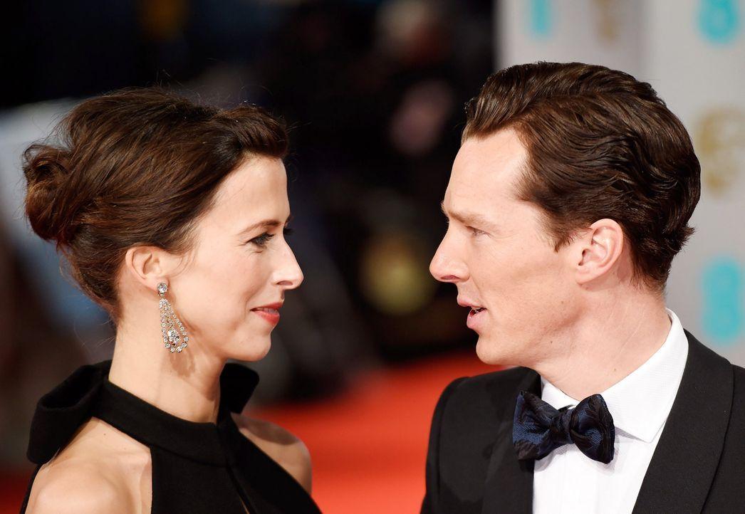 BAFTA-Benedict-Cumberbatch-Sophie-Hunter-15-02-08-dpa - Bildquelle: dpa