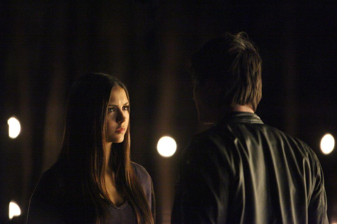 Damon Salvatore und Elena Gilbert - Bildquelle: Warner Bros Entertainment Inc.