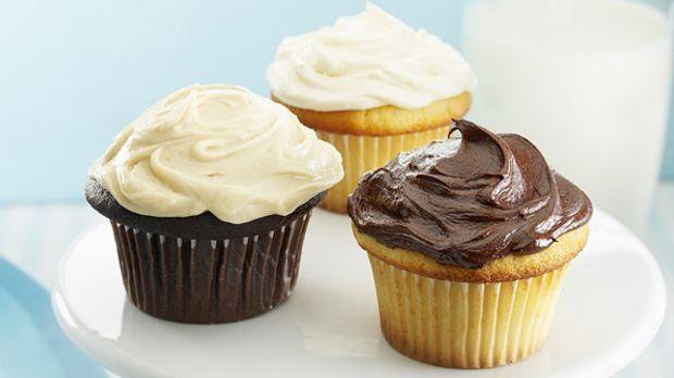 Für alle Naschkatzen: Cupcake mit Schokoladencreme