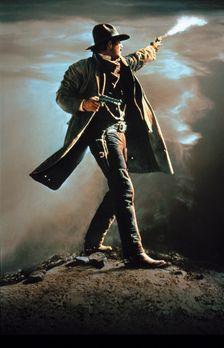 Wyatt Earp - Das Leben einer Legende - Wyatt Earp (Kevin Costner) wird von se...