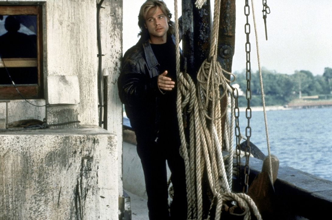 Obwohl der ahnungslose Tom ihn wie einen Sohn in sein Haus und seine Familie aufnimmt, hintergeht Francis (Brad Pitt) seine Gastgeber ... - Bildquelle: Columbia TriStar