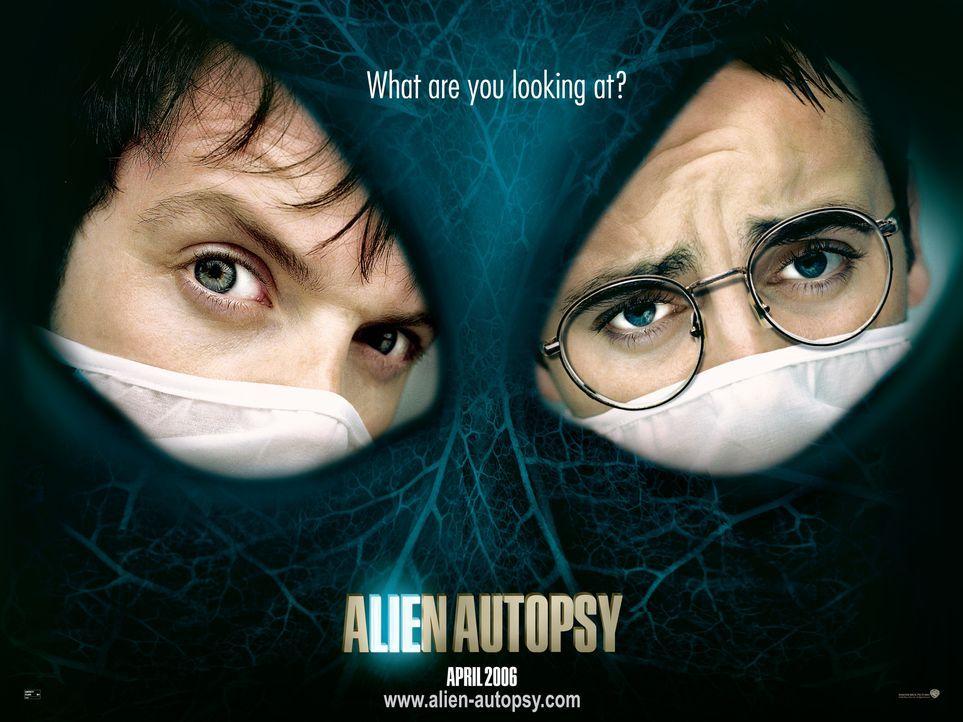 ALIEN AUTOPSY - DAS ALL ZU GAST BEI FREUNDEN - Plakatmotiv - Bildquelle: Warner Brothers International