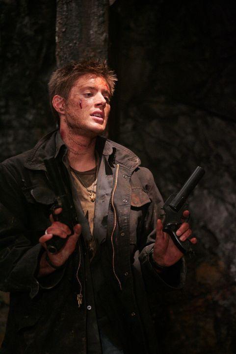 Anhand der Tagebuchaufzeichnungen ihres Vaters finden Sam und Dean (Jensen Ackles) heraus, dass sie es mit einem Wendigo zu tun haben, einem bösen... - Bildquelle: Warner Bros. Television
