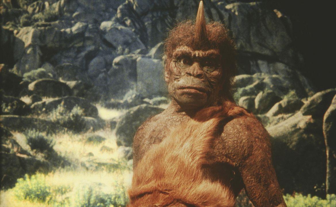 Der eher grimmig aussehende Troglodyt entpuppt sich als ein hilfreicher Freund ... - Bildquelle: Columbia Pictures