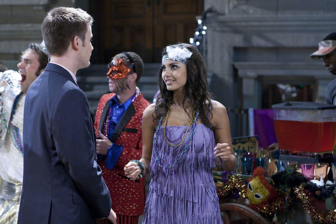 Die Freunde verbringen ein paar Tage in New Orleans. Beim Mardi Gras trinkt Aaron (Zach Cregger, l.) einen über den Durst und geht mit einer Fremde... - Bildquelle: NBC Universal, Inc.