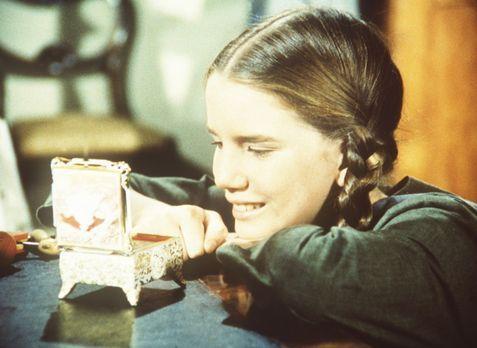 Unsere kleine Farm - Laura Ingalls (Melissa Gilbert) ist von Nellie Olesons S...