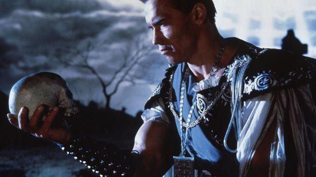 Sein oder Nicht-Sein - Jack Slater (Arnold Schwarzenegger) ... © Columbia Pic...