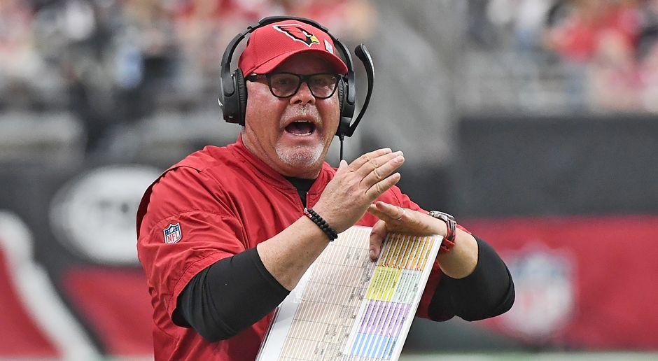 Platz 7: Bruce Arians (Arizona Cardinals) - Bildquelle: getty images