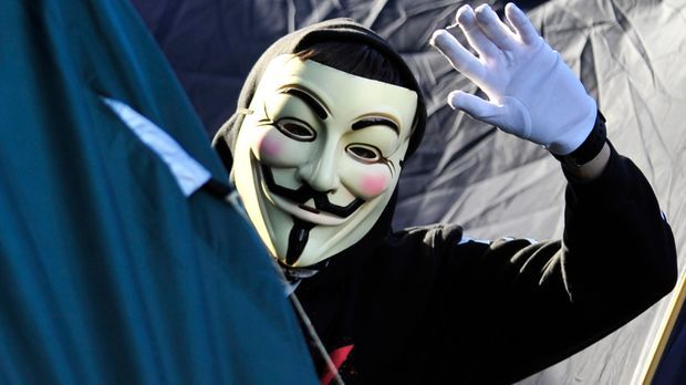 Guy Fawkes Maske