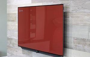 Flatscreen-Wand