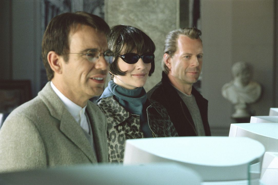 Gemeinsam sind sie unschlagbar: (v.l.n.r.) Terry (Billy Bob Thornton), Kate (Cate Blanchett) und Joe (Bruce Willis) ... - Bildquelle: Metro-Goldwyn-Mayer