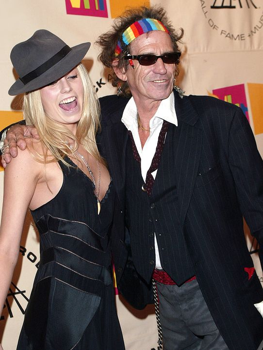 Keith-Richards-Alexandra-Richards-04-03-15-getty-AFP - Bildquelle: getty-AFP