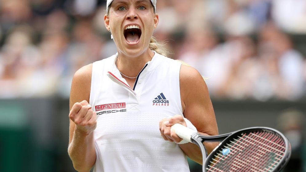 Kerber steht in Wimbledon unter den besten Vier - Bildquelle: AFPSIDDANIEL LEAL-OLIVAS