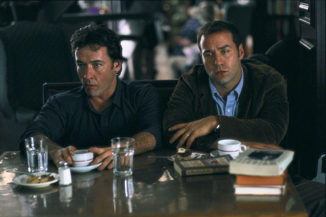 Jonathan (John Cusack, l.) und Dean (Jeremy Piven, r.) sind mit ihrem Latein am Ende ... - Bildquelle: Alliance Atlantis Communications