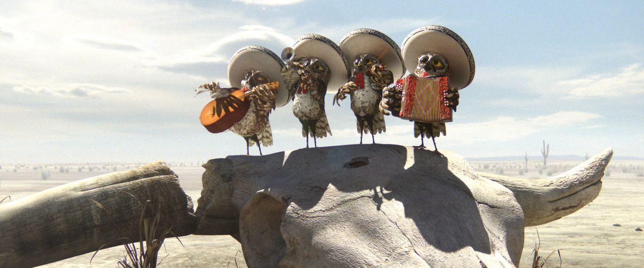 Zu allem und jedem muss die Mariachi-Band ihren Teil beitragen ... - Bildquelle: Paramount Pictures. All rights reserved.