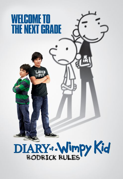 DIARY OF A WIMPY KID: RODRICK RULES - Plakatmotiv - Bildquelle: 2011 Twentieth Century Fox Film Corporation. All rights reserved.