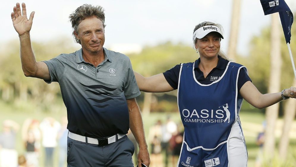 Bernhard Langer (l.) feierte in Florida seinen 39. Titel - Bildquelle: GETTY IMAGES NORTH AMERICAGETTY IMAGES NORTH AMERICASIDMichael Reaves